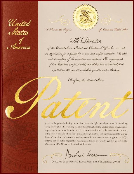 In the news patent cover